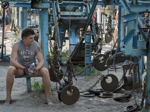 Ukrayna da şaşırtan spor salonu