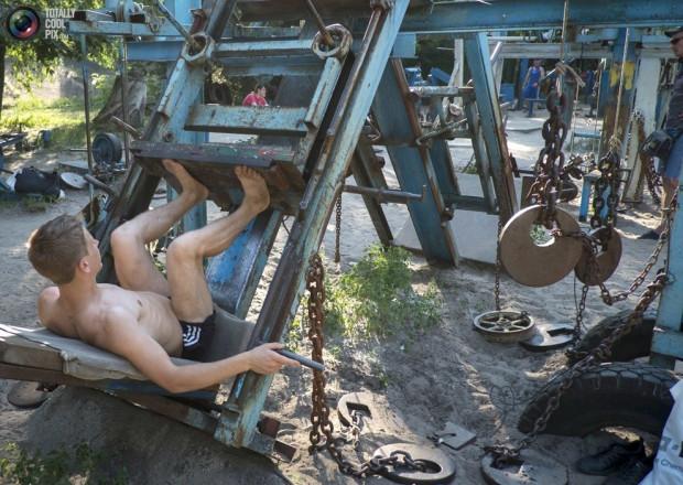 Ukrayna'da şaşırtan spor salonu - Page 2