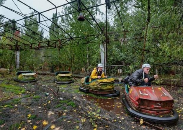 Ukraynalı gençler yasak bölge Çernobil'e gizlice girdi ve görüntüledi - Page 3