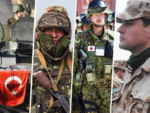Ülkelerin asker sayılırını biliyor musunuz? - Page 1