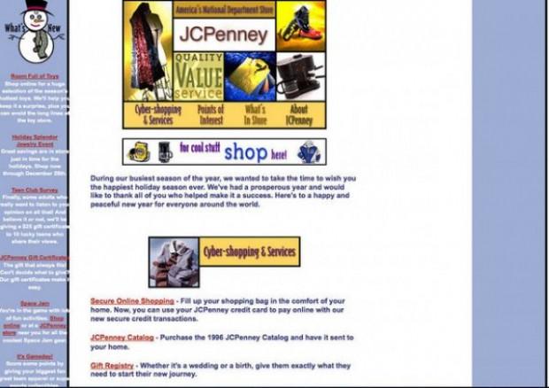 Ünlü markaların 90'lı yıllardaki komik site tasarımları - Page 2