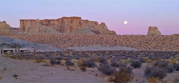Utah çölünün ortasında lüksün doruklarında bir yer - Page 1