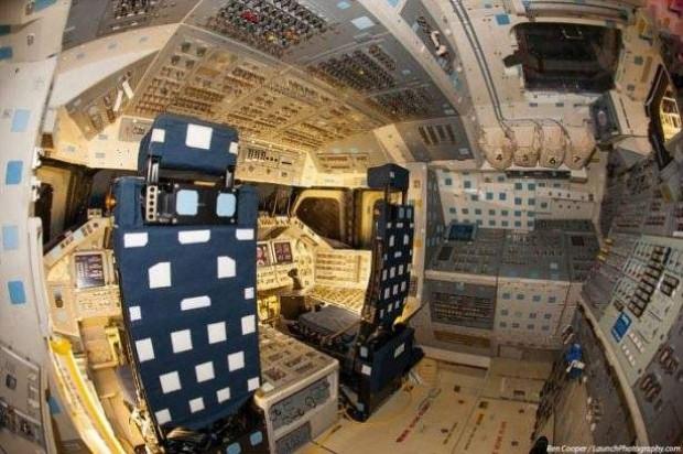 Uzay mekiğine içeriden bakın - Page 3