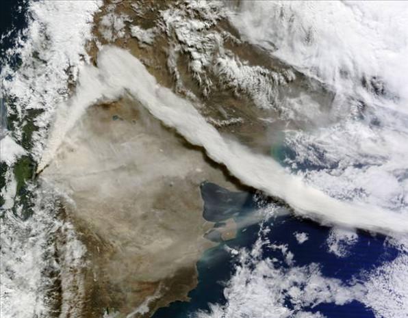 Uzaydan görünen volkanik patlamalar - Page 3