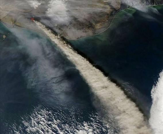 Uzaydan görünen volkanik patlamalar - Page 4