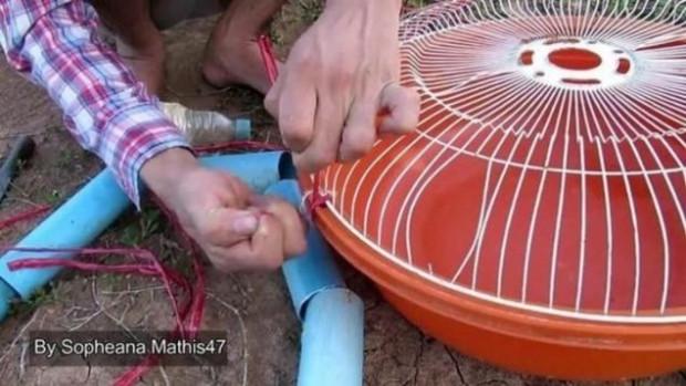 Vantilatör teliyle balık avladı - Page 4