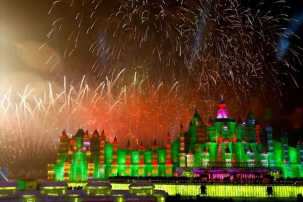 ''Harbin buz ve kar festivali'' nde buzdan şehir - Page 4