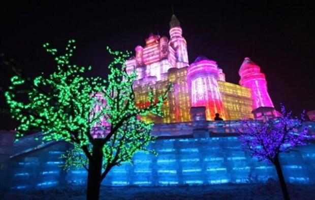 ''Harbin buz ve kar festivali'' nde buzdan şehir - Page 1