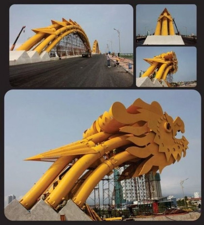 Vietnam'da şaşırtan köprü tasarımı! - Page 1