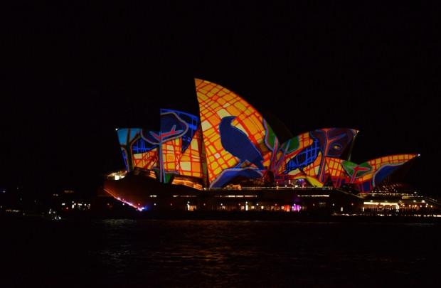 Vivid Sydney Festivali renkli görüntüler - Page 2