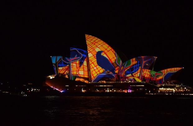 Vivid Sydney Festivali renkli görüntüler - Page 3