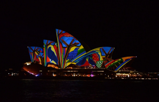 Vivid Sydney Festivali renkli görüntüler - Page 4