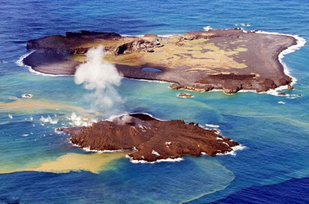 Volkanik ada böyle yok oldu! - Page 1