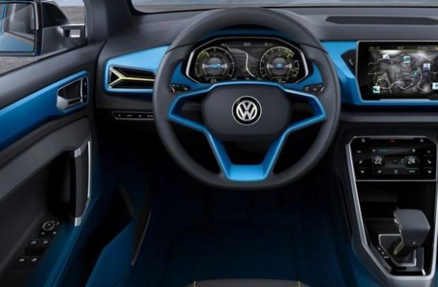 Volkswagen, mini SUV kategorisine T-ROC crossover - Page 1