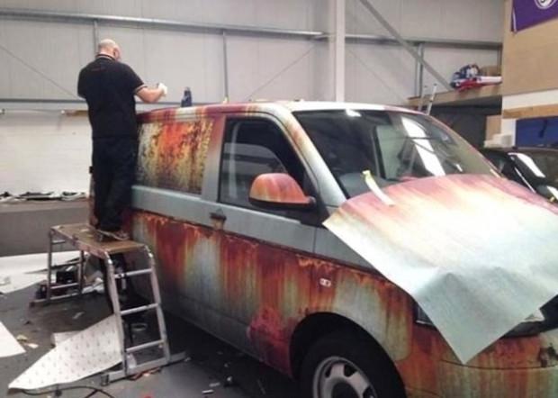 Volkswagen Transporter'a hırsız önlemi! - Page 2
