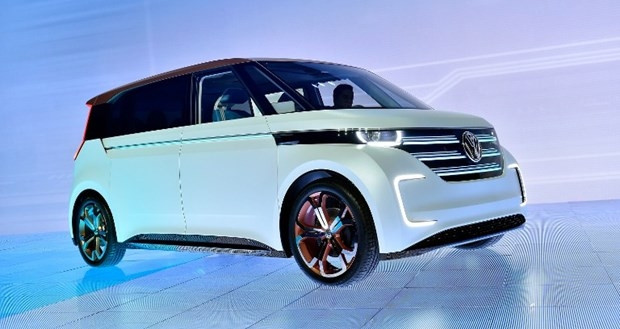 Volkswagen'den elektrikli minivan - Page 1