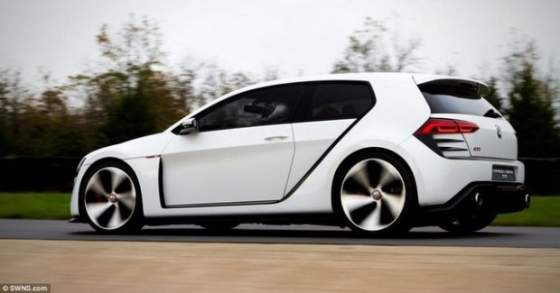 Volkswagen'in çılgın aracı Golf! - Page 2
