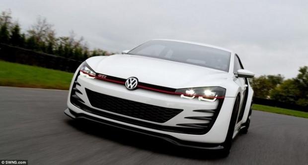 Volkswagen'in çılgın aracı Golf! - Page 4