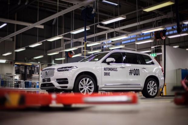 Volvo sürücüsüz aracını test etti - Page 1