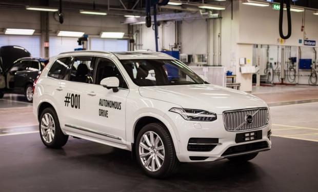 Volvo sürücüsüz aracını test etti - Page 2