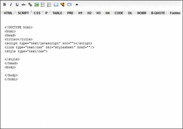 Web Geliştiriciler için  Faydalı Online HTML Editörleri - Page 4
