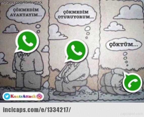 WhatsApp çöktü capsler patladı! - Page 1