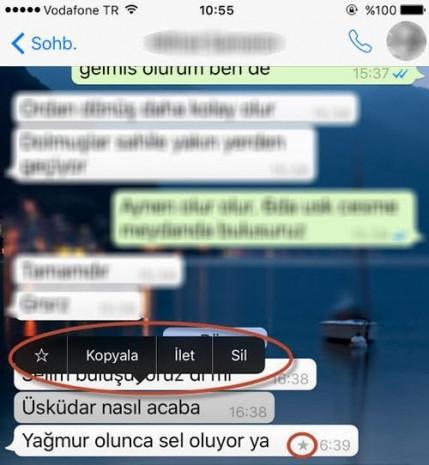 Whatsapp'a yıldızlı mesaj özelliği geldi - Page 3
