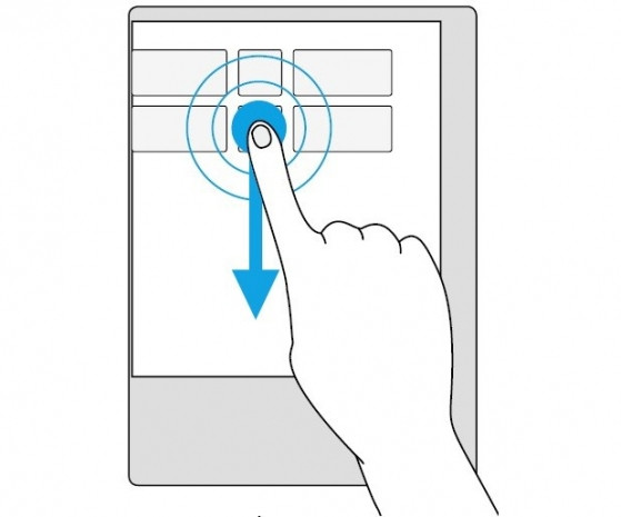 Windowslu cihazlar için dokunmatik ip ucları - Page 1