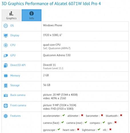Alcatel Idol 4 Pro güçlü donanım özellikleri ile geliyor - Page 2
