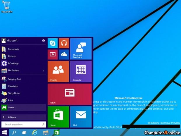 Windows 9 ekran görüntüleri sızdı! - Page 1