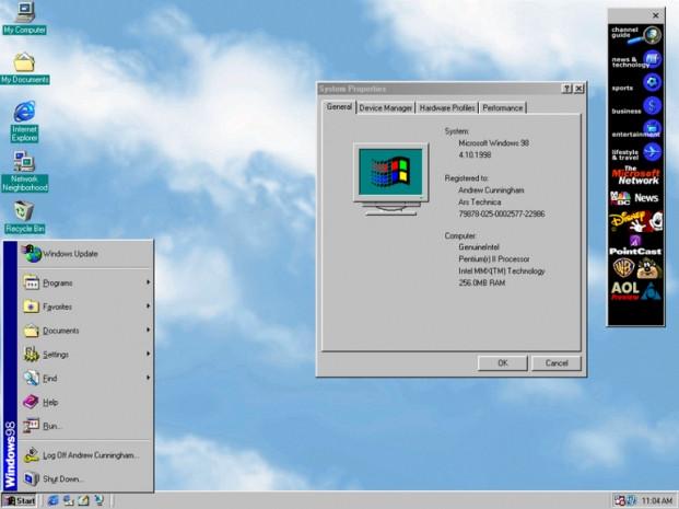 Windows başlangıç menüsünün görsel tarihi - Page 2
