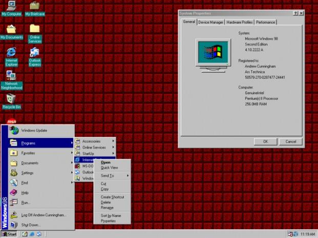 Windows başlangıç menüsünün görsel tarihi - Page 3
