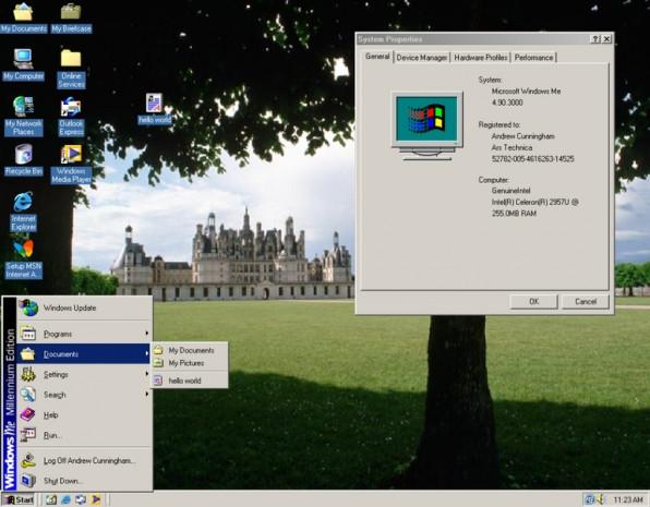Windows başlangıç menüsünün görsel tarihi - Page 4
