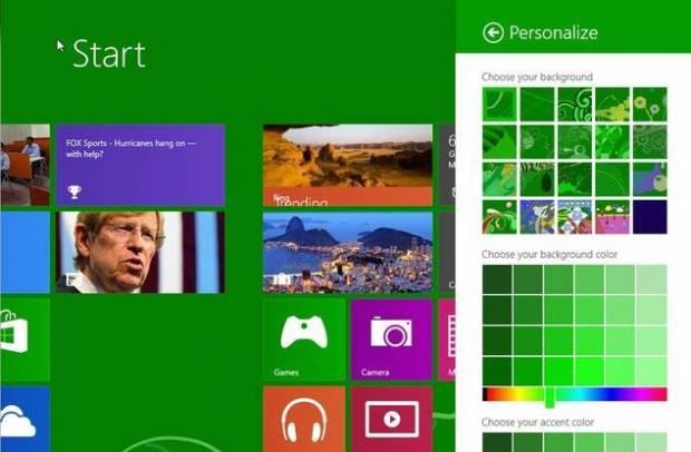 Windows Blue ekran görüntüleri - Page 1