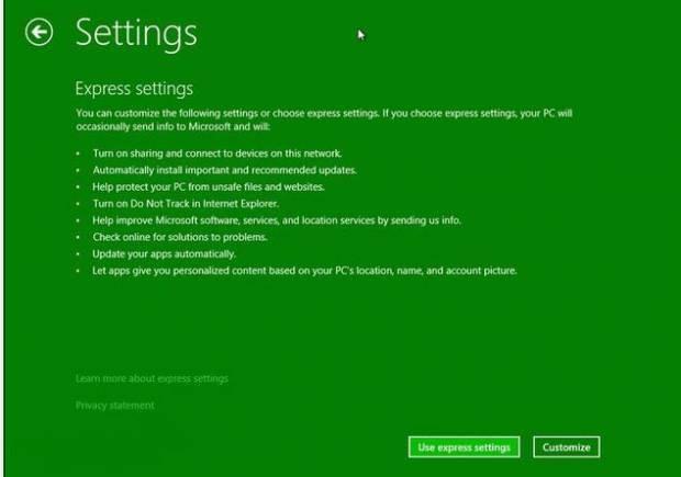 Windows Blue ekran görüntüleri - Page 3