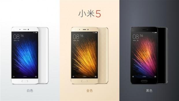 Xiaomi Mi5: Tüm resmi görseller ve özellikler - Page 1