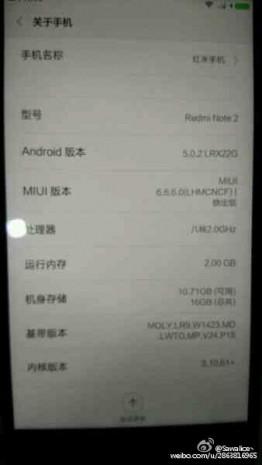 Xiaomi Redmi Not 2 sızdı - Page 4