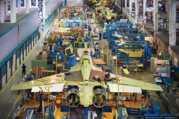 Yakovlev Yak-130'un üretim aşaması görüntülendi - Page 3