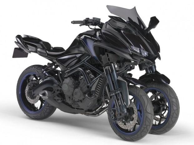 Yamaha'nın 850cc üç tekerlekli konsept - Page 1