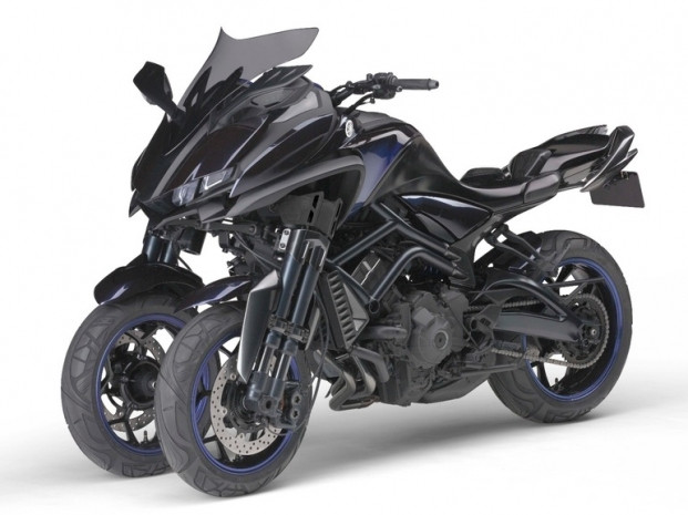 Yamaha'nın 850cc üç tekerlekli konsept - Page 2