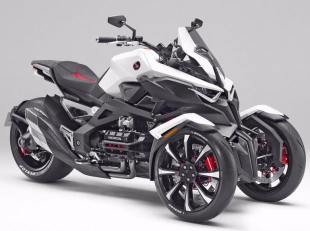 Yamaha'nın 850cc üç tekerlekli konsept - Page 4