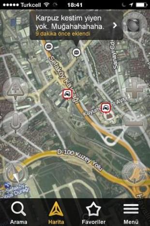 Yandex Navigasyon'a bırakılmış en komik trafik yorumları - Page 1