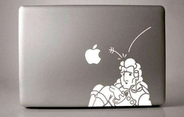 Yaratıcı MacBook etiketleri - Page 3