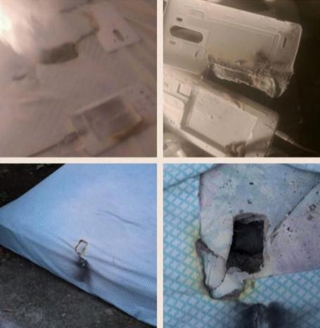 Yatakta sarj edilen LG G3 patladı - Page 4