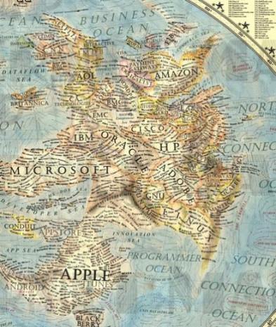 Yazılım ve donanım şirketlerinden dünya haritası! - Page 1