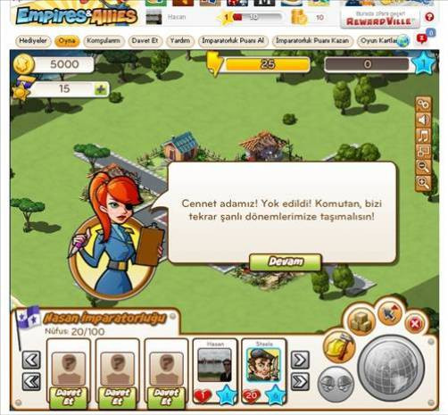 Yeni Facebook oyunu: Empires & Allies - Page 1