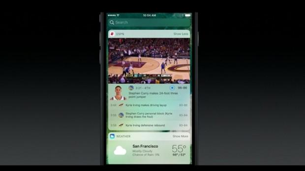 Yeni iOS 10 kilit ekranı - Page 1