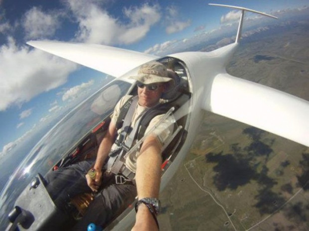 Yeni moda gökyüzünde Selfie! - Page 1