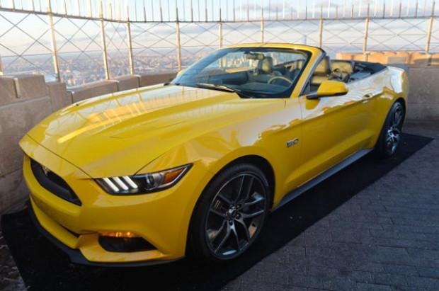 Yeni Mustang Convertible New York'da tanıtıldı! - Page 4