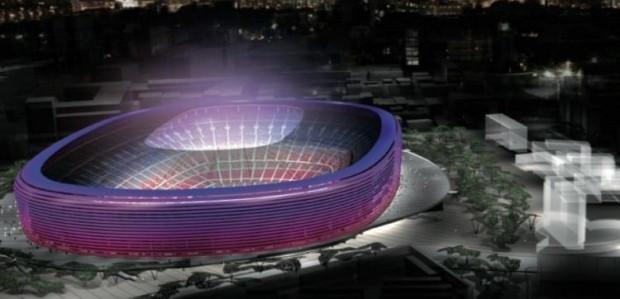 Yenilendikten sonra Barcelona'nın stadı Camp Nou böyle olacak - Page 1